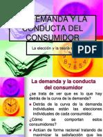La Demanda y Conducta Del Consumidor