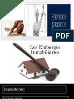Servicios Jurídicos II- Los Embargos