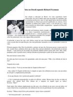 Ensino de Fsica No Brasil Segundo Richard Feynman