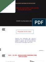 13. Sistema de Colección y Evacuación de Aguas de Lluvia.