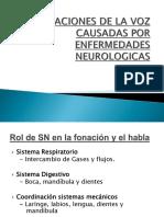 Alteraciones Voz Neurologicas