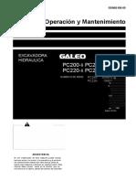 Manual Excavadora Komatsu Pc200lc Pc220lc