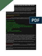 Backup Automáticos de Bases de Datos SQL Server 2008