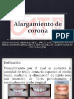 ALARGAMIENTO DE CORONA.pptx
