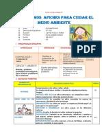 SESION ELABORAMOS PANCARTAS DERECHOS