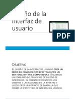 04 Diseño de La Interfaz de Usuario