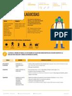 Ficha de Peligros Del Oficio de Aplicador de Plaguicidas