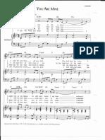 You Are Mine, PDF