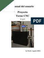 Manual Torno CNC 1.3.7