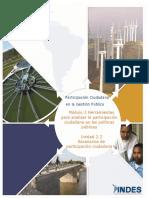 Participacion Ciudadana en La Gestion Publica