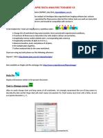 Timelapse Data Analysis Tools