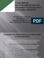 Perspektif Etika Bisnis dalam Ajaran Islam (Sudut Pandang) dan Barat, dan Etika Profesi.pptx