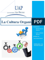 Monografia Cultura Organizacional