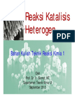 PPT Reaksi Katalisis Heterogen