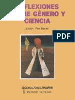 Evelyn Fox Keller - Reflexiones Sobre Genero y Ciencia