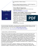 Edelman, Marc - Global Land Grabs. Historical Processes, Theoretical and Methodological Implications and Current Trajectories