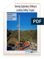 Planning Exploratory Drilling and Locating Drilling Targets S. Akar U. Solaroglu O. Atalay