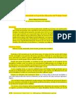 El Informe Social - Un Enunciado en La Practica Discursiva
