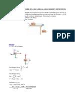 Ejercicios de Mecanic - DCL - 2 LEY de NEWTON
