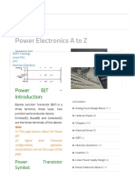 Power BJT Tutorial_ Power Electronics a to Z