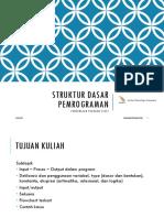 4. Struktur Pemrograman
