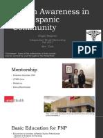 health awareness in the hispanic community final