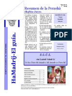 HAMADRIJ 18-SHOFTIM