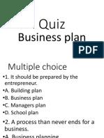 Business Plan - Test