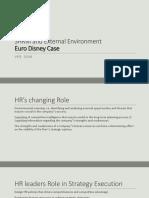 SHRM-2 Euro Disney Case