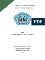 Analisis Laporan Keuangan Perusahaan Pt.