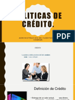 Politicas de Crédito y Cobranza
