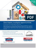 HDFC Housing Opportunities Fund NFO Leaflet 1 Nov 2017