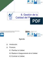 C8 Calidad PMBOK 5a Ed