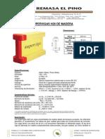 Especificaciones-VIGAS-H20