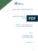 Manual Vancouver y Apa, Uh-2016-3 Vf