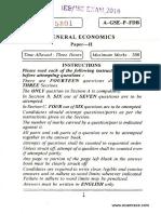 IEcoS Economics Paper 2 2016