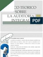 MARCO TEORICO Auditoria Integral