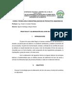 Informe 3 Licor de Cacao