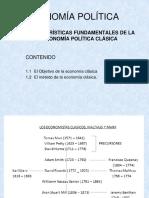 03 - Características Fundamentales de La Economía Política Clásica