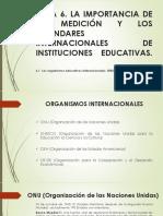 La Importancia de La Medición y Los Estándares Internacionales de Instituciones Educativas