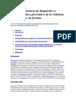Manual de Técnicas de Diagnóstico y Autodiagnóstico Preventivo de La Violencia Intrafamiliar