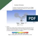Brief Microfluidic CFD Simulation Explanation