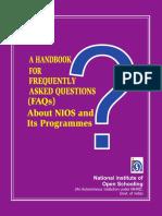 Handbook for FAQ(English)12!11!2014