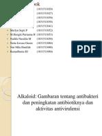 Ppt Alkaloid