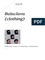 Balaclava (Clothing)