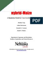 Hybrid-Maize User's Guide _ Hybrid-Maize _ University of Nebraska–Lincoln