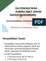 Kajian Geoteknik_Banjar Baru