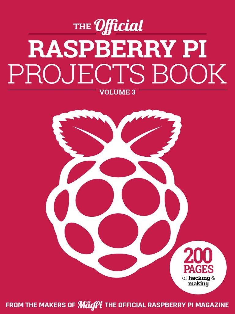 Projects Book V3pdf Command Line Interface Python Programming Wiringpi Pwm Bash Language