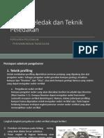 6.Bahan Peledak Dan Teknik Peledakan (Persiapan Peledakan)