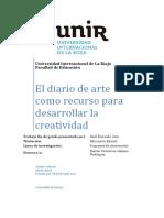 El Diario de Arte Como Recurso Para Desarrollar La Creatividad